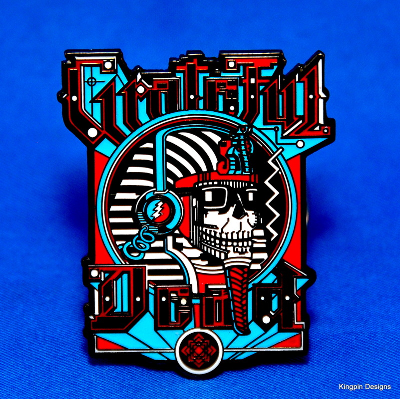 Kingpin Designs - Rick Griffin Pins - Kingpin Designs